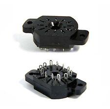 50 pcs IN-12A IN-12B IN-15 IV-22  Nixie VFD Tube Socket SK-136 Bakelite NOS