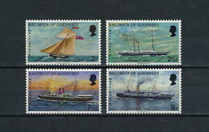 Guernsey   64-7 MNH, Mail Boats, 1972