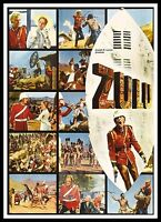 Zulu   British Movie Posters Classic & Vintage  Films