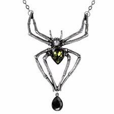 Alchemy SPIDER SMERALDO Venom pendente, poiché indossata da Alice Cooper Collana