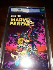 Marvel Fanfare #2 CGC 9.6 ( NM+ ) Claremont Story / Michael Golden Cover 1982