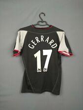 Gerrard Liverpool Jersey 2002 2003 Away S Shirt Reebok Football Soccer ig93