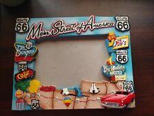 Main Street Of America Route 66 Picture Frame Fun *RARE