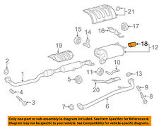 TOYOTA OEM 15-16 Camry 2.5L-L4-Exhaust System Tail Pipe 174080V010