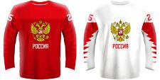 NEW 2020 Russia Hockey Jersey KUCHEROV OVECHKIN PANARIN MALKIN TARASENKO NHL