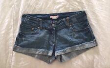 Supre Denim Short Shorts Xs Fits 8