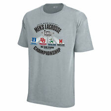 2014 LAX Lacrosse Championship Duke Blue Devils Denver Maryland Gray T-Shirt