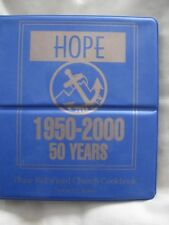 Hope Reformed Church Cookbook  3 ring binder 2000 - 246 pages - Spencer, Iowa