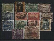 Saar 84-97 gestempelt (B04359)