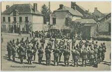 Military Band Évergnicourt France 1916 Patriotic German WW1 Feld Postcard (400)