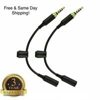 2-Pack Headphone Adapter Cable Lifeproof Fre Nuud for Apple iPhone 6 6 Plus 6S