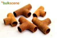 BULKSCENE - MODEL SCRAP RUSTY TEE PIPES OO/HO GAUGE WAGON LOADS - PACK OF 5