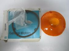 60-72 Chevrolet Medium Heavy-Duty Parking Light Amber Lense NOS 655789