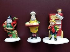 Department 56 North Pole Heritage- Baker Elves #5603-0 New Retired