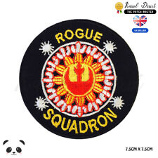 STAR WARS Rouge Squadron Embroidered Iron On Sew On Patch Badge For Clothes etc