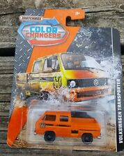 NEW Matchbox Color Changer Volkswagen Transporter Orange