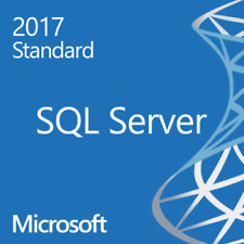 Microsoft SQL Server 2017 Standard - 4 Core w/ Unlimited CALs