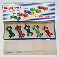 DINKY TOYS GIFT SET no. 4-Racing Cars en Professionnel reprobox