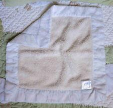 Swaddle Design Organic Cotton Flannel Blue Circles Baby Boy Security Blanket EUC