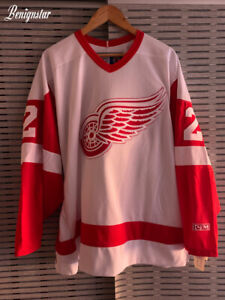 Derian Hatcher Detroit Red Wings Ice Hockey Jersey