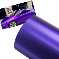 New DIY 750mm*1.52M Decal Vinyl Film Wrap Roll Car Auto Sticker Sheet ICE Purple