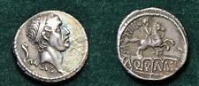 ROMAN REPUBLIC DENARIUS OF L MARCIUS PHILIPPUS, 56 BC, OUTSTANDING CONDITION