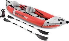 Intex Excursion Pro Kayak Inflatable Fishing Kayak - Red