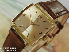 1962 Vintage HAMILTON Gary, Stunning Brown  & Champagne Dial, Serviced