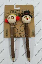 Snowmen Crazy head pencils