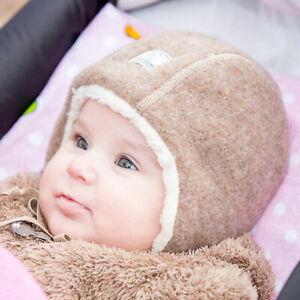 Pickapooh Baby Wollfleece Mütze JAN, Merino Schurwolle kbT Baumwolle kbA