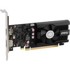 MSI NVIDIA GeForce GT 1030 2GD4 LP OC 2GB DDR4 HDMI/DisplayPort Low Profile