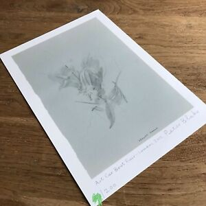 Peter Blake - 'Flowers', France - Hand Signed Print  (not Emin, Hirst)