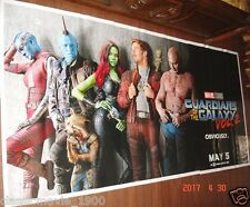 GUARDIANS OF THE GALAXY VOL.2 (2017) ORIGINAL 6 SIX SHEET GIANT 52 X 106 POSTER