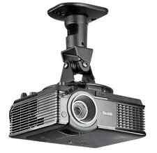 Projector Mount - Universal Ceiling Bracket LCD DLP Tilt 360° Swivel 25lbs Black