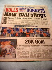 Kerry Woods Strikes Out 20 -- Original Newspaper