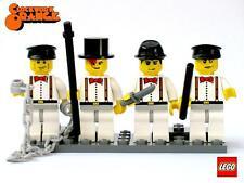 Lego CLOCKWORK ORANGE Custom minifig Lot w/ display!