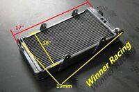 """40mm 200-250 CC Aluminum Radiator Go Kart go-kart karting 17"""" x 10"""" x 2"""""""