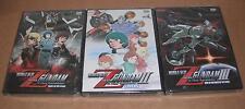 Mobile Suit Zeta Gundam Movie 1,2,3, Complete Set NEW R1 DVD