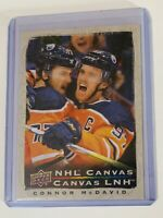 2020-21 TIM HORTONS NHL CANVAS CONNOR MCDAVID C-1 OILERS