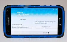 Samsung Galaxy S5 SM-G900F - 16GB - Blue Unlocked + 2GB SD Card