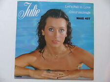"MAXI 12"" JULIE PIETRI Let's fall in love 8120"