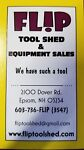 FLIP TOOL AND EQUIPMENT SALES