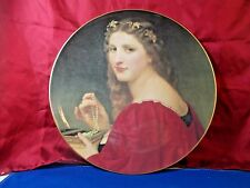 Ladies of PR Ponce Art Museum porcelain 10.5in plate # 531 Margarita de Fausto