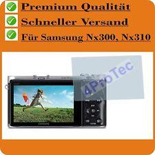 4x Samsung NX300 NX310 protubérance Film Protecteur Film de protection d'ecran