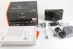 Sony DSC-RX100 IV Digitalkamera 24-70 mm ZEISS Vario-Sonnar T - schwarz OVP