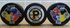 "Lot of (3) Providence Bruins "" Calder Cup 2000 "" AHL Hockey Pucks"