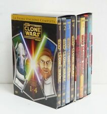 Star wars - The Clone Wars Stagione 1-2 Complete n. 8 DVD con Cofanetto