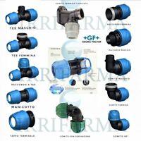 Raccordo polietilene 40 Raccordi a compressione irrigazione acqua per tubo PP PE