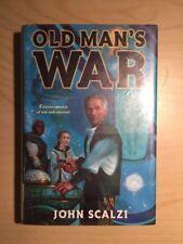 John Scalzi Old Man's War 1st Edition 1st Print ex library