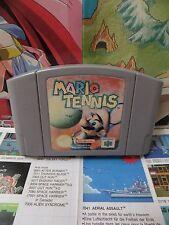 Nintendo 64 N64:Mario Tennis [TOP & 1ERE EDITION] SEUL - Fr
